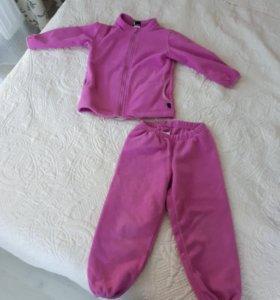 Флисовый костюм 92 размер