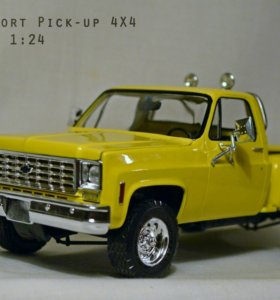 Chevy SPORT Pick-up 4x4 1:24