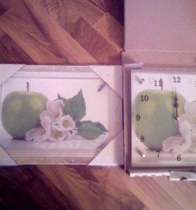 Картина+часы(такая цена только сегодня)