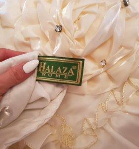 Покрывало евро (две розы) Halaza Home.