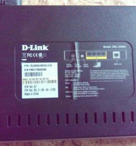 Модем d-link dsl-2540u