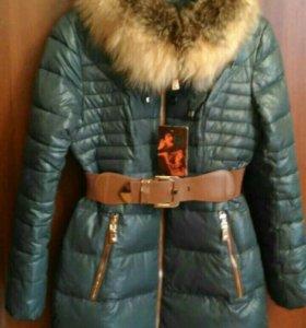 Новая куртка зимняя удлиненная