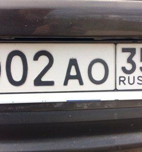 Гос номер на автомобиль