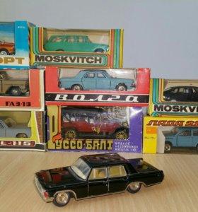 Коллекционные модели 1:43 СССР