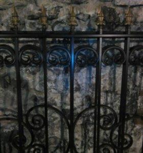 Заборы ворота.ставни.
