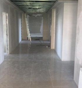 Выполнение строительных и отделочных работ