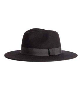 Шляпа h&m новая 100% шерсть