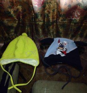Продам шапочки демисезонные