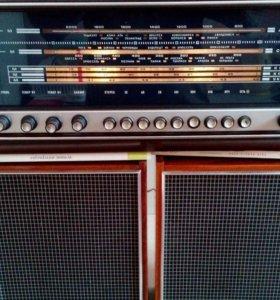 Проигрыватель-радиоприемник Вега-312