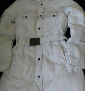 Куртка пуховик Zara р. M