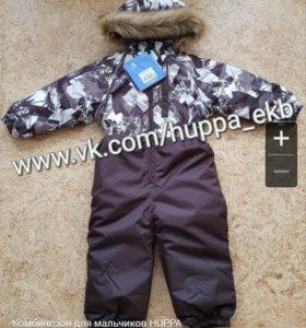 Новый зимний комбинезон Huppa