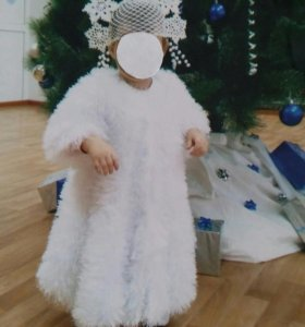 костюм снежинки или снегурочки