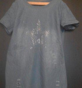 Джинсовое платье женское