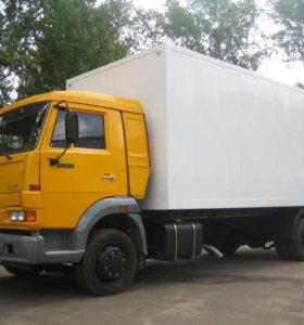 Промтоварный фургон на КАМАЗ 4308