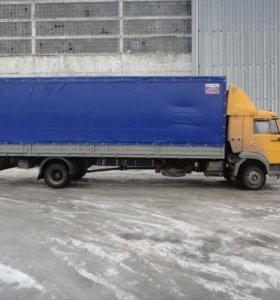 Тентованный фургон на КАМАЗ 4308