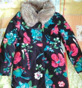 "Пальто на девочку(""Catimini"")"