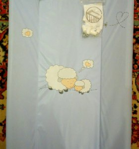 Доска для пеленания с креплениями на кроватку