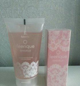Парфюмерная вода+гель Faberlic OFeerique Sensuelle