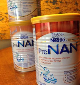 Детское питание PreNAN с рождения
