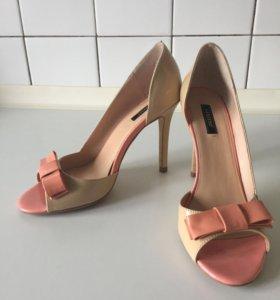Лаковые туфли gerzedo 39 р