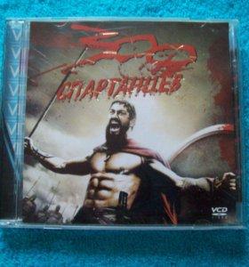 """Диск DVD - (2 DVD) - фильм """"300 спартанцев """""""