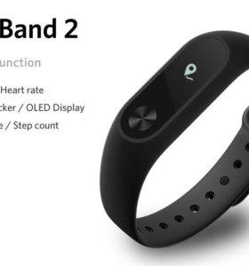Xiaomi Mi Band 2 фитнесс-браслет. Новый. Запечатан