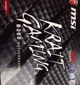 Материнская плата msi KRAIT GAMING B250.