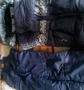 •новая цена• Зимний костюм, на 2-4 года.