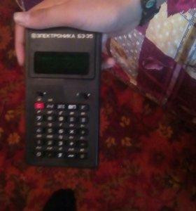 Калькулятор электроника Б3-35