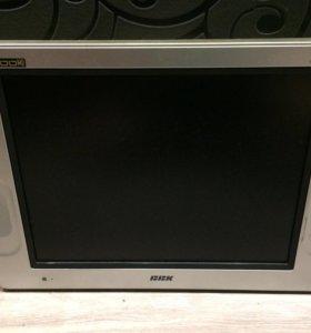 Жк Телевизор с DVD экран 20 дюймов