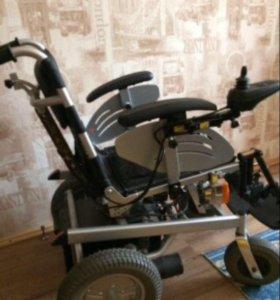 Инвалидное кресло коляска с электроприводом Армед.