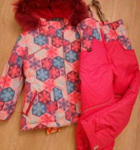 Новая зимняя куртка+полукомбенизон