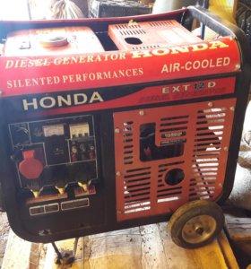 Дизельный генератор Honda etx 12d