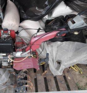 Мотоблок AgroMotor AS1100BE