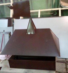 Гибка металла, откосы отливы на окна, дымники и др