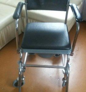 кресло каталка гигиеническая