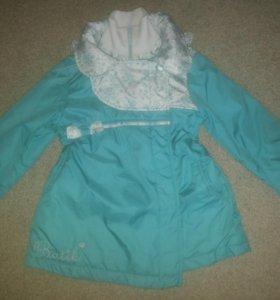Куртка д/девочки демисезонная 116