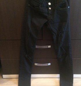 Продам новые рваные джинсы, размер Xs