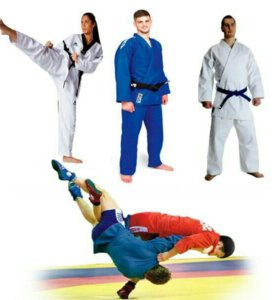 Кимоно для карате, дзюдо, самбо, тхэквондо