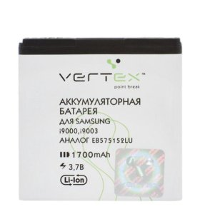 новая АКБ SAMSUNG S2 VERTEX