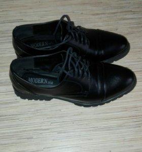 Туфли женские ( Оксфорды)