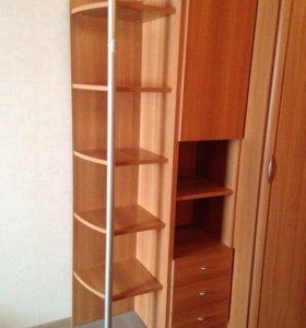 Стеллаж и шкаф, мебель Дятьково