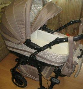 Детская коляска 3в 1 Adamex Mars