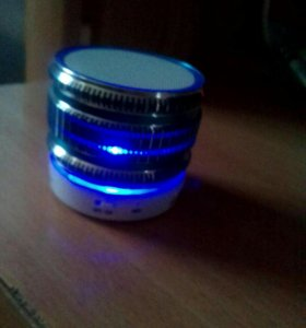 Колонка bluetooth(блютус)портативная с подсветкой
