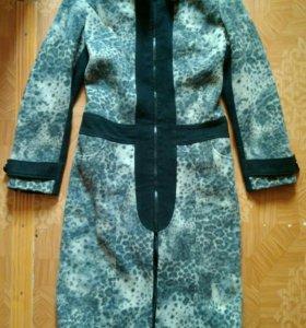 Элегантное осенне-весеннее пальто