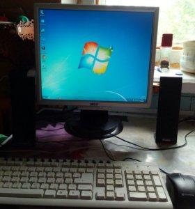 Двухядерный компьютер в сборе.