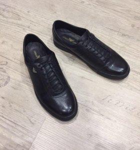 Ботинки армани