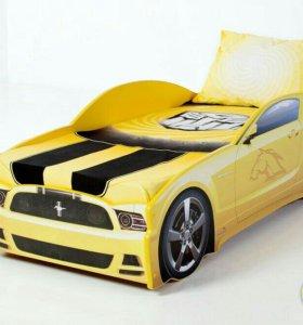 Кровать машина, кроватка машинка