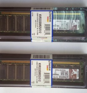 Память Kingston KVR333D8R25/512 DDR ECC