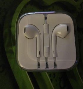 Apple EarPods оригинал от айфона 6s